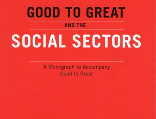 Can your nonprofit organization go from Good to Great?