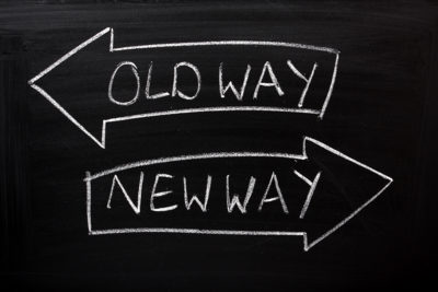 the old way no longer works