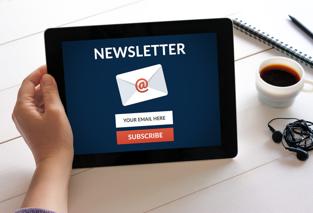 nonprofit newsletters