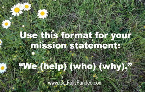 nonprofit mission statement