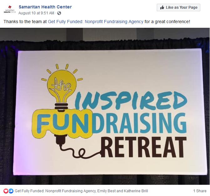 2019 Inspired Fundraising Retreat