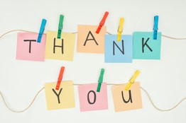 Donor Acknowledgement Ideas