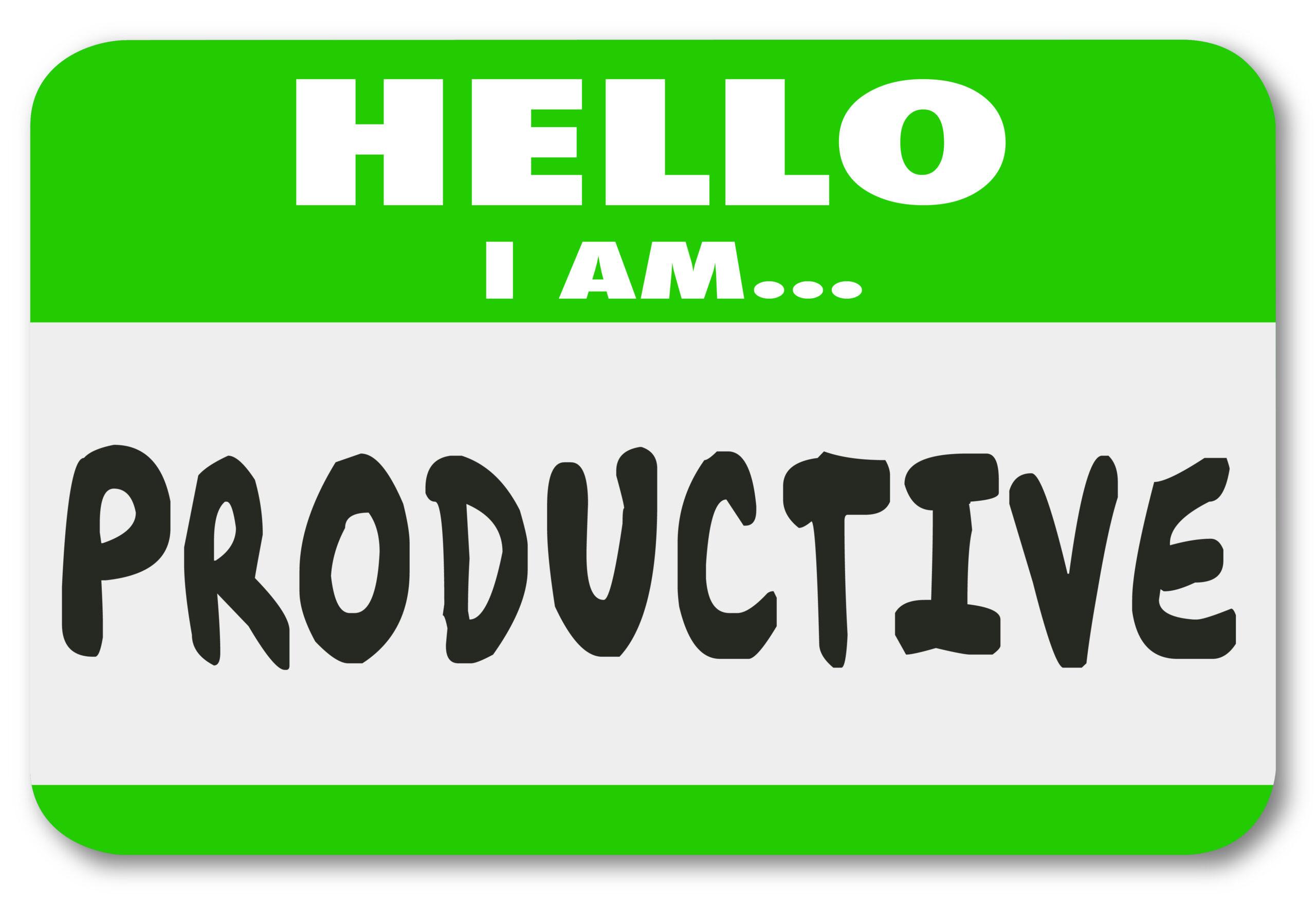 nonprofit productivity
